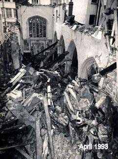 IRA Bomb Damage